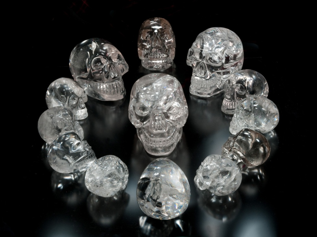 another crystal skull found: mayan prophecy