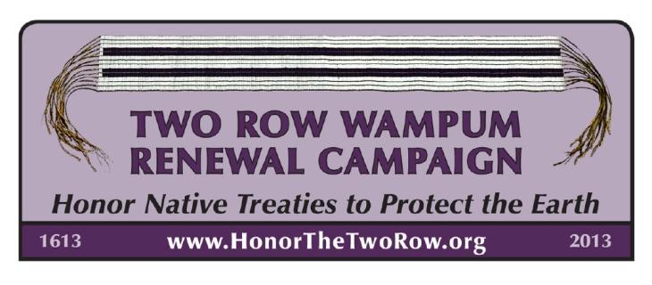 Microsoft Word - Two Row Wampum Peace Walk