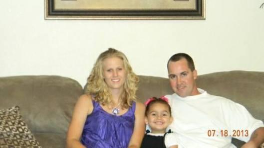 Robin, Veronica and Dusten Brown