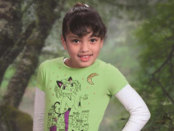 8 year old victim