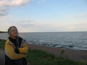 Photo Credit: Carol Hand – Lake Superior - Duluth, MN – 2010 (Photographer – Jnana Hand)