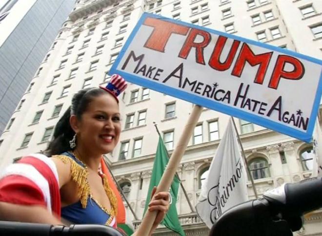 trump make america hate
