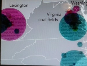 a project has recorded slave names (highlighted in circles)