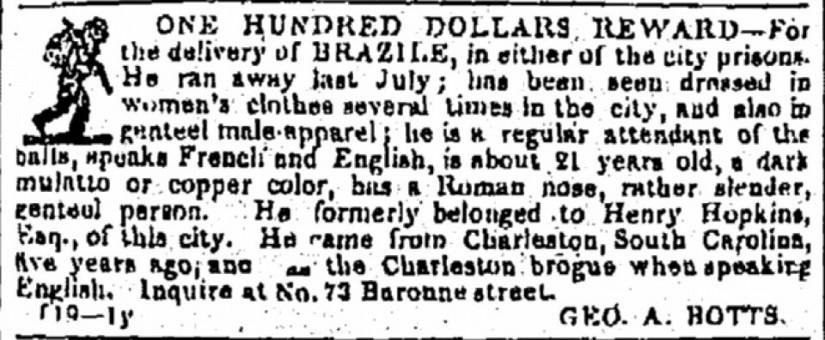 Hunting down runaway slaves: The cruel ads of Andrew Jackson and 'the master class' | OsageMurders